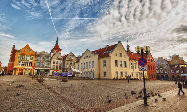 Vieille ville d'Olsztyn Place du marché