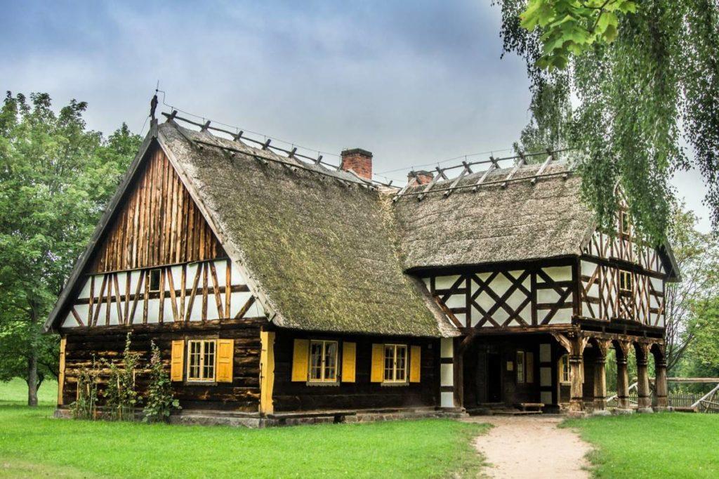 Around Letnia Kuchnia : Skansen Museum Open Air Olsztynek Poland