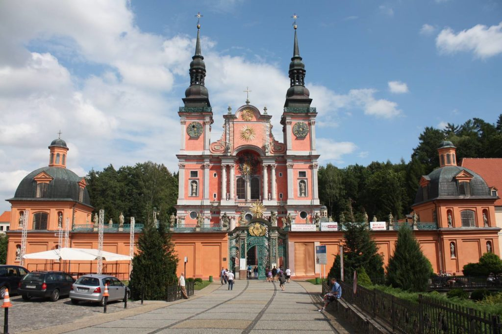 Around Letnia Kuchnia : Swieta Lipka Pilgrim Catholic Holy Place Poland