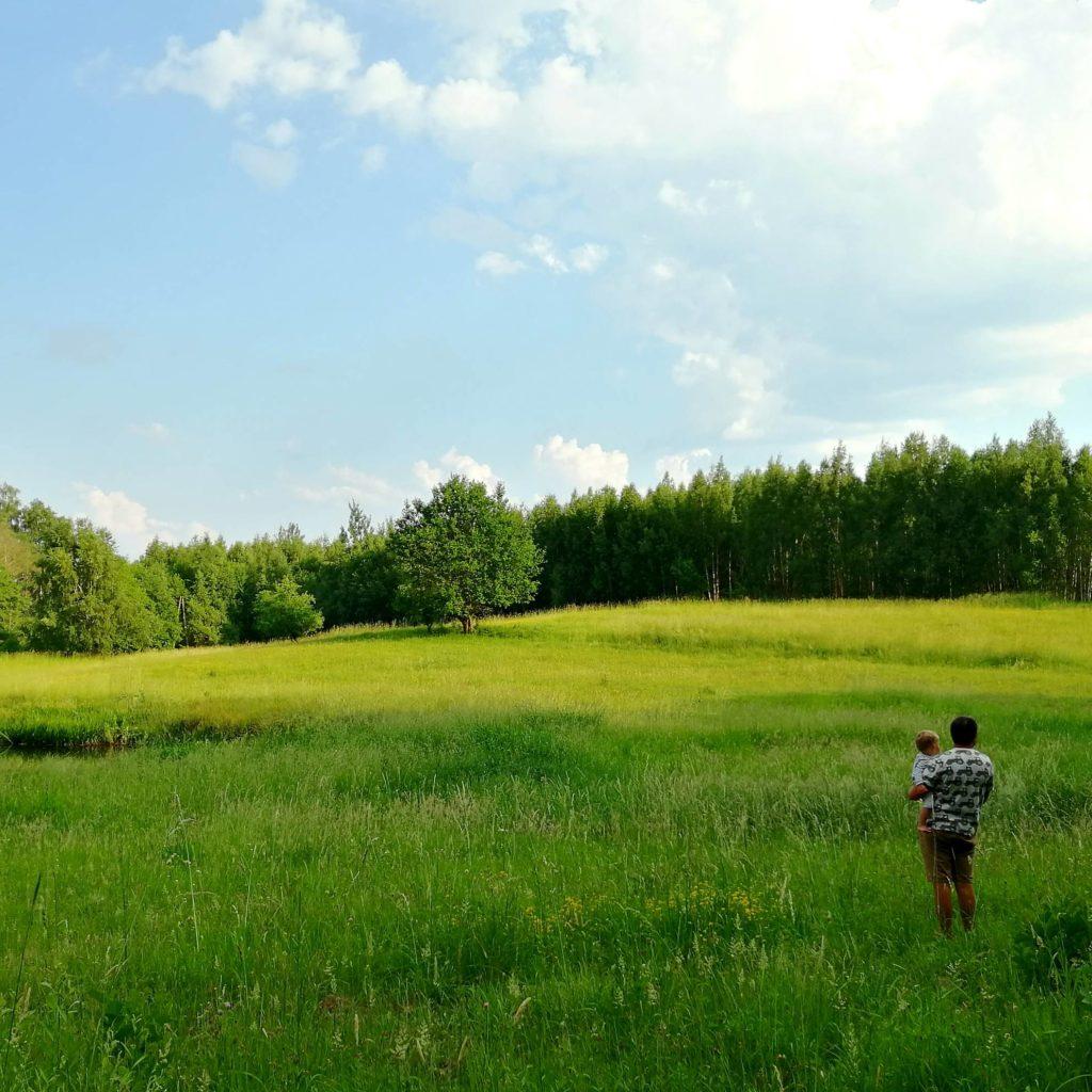 Siedlisko Letnia Kuchnia Agroturystyka Las Jezioro Rozlewisko Warmia Mazury Rodzina