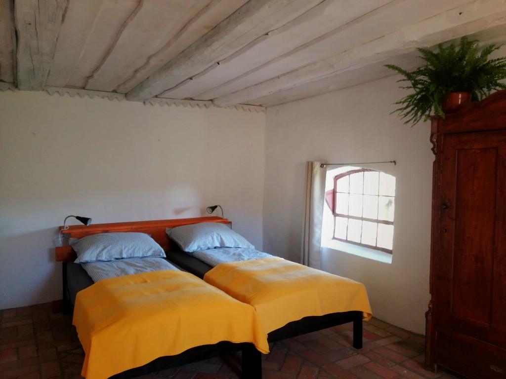 Letnia Kuchnia B&B Warmia Quercus Room Parents Bed