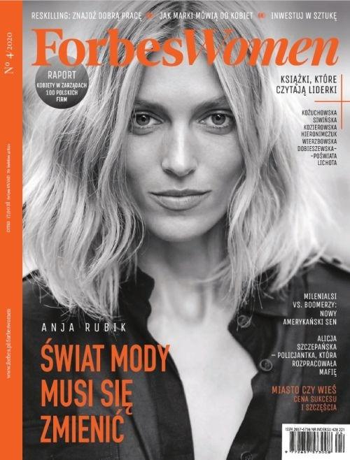 Couverture Magazine Forbes Woman Polska Interview Ela Legros