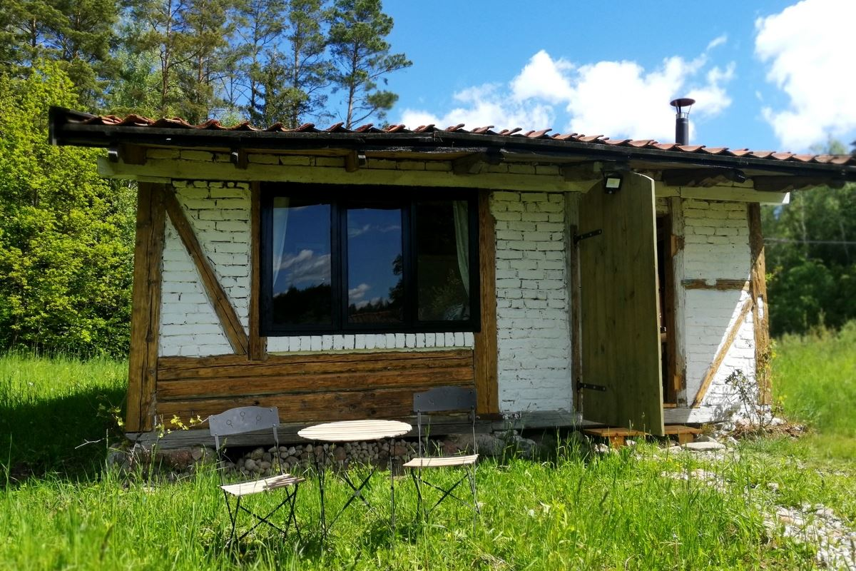 Summer cabin in Warmia region