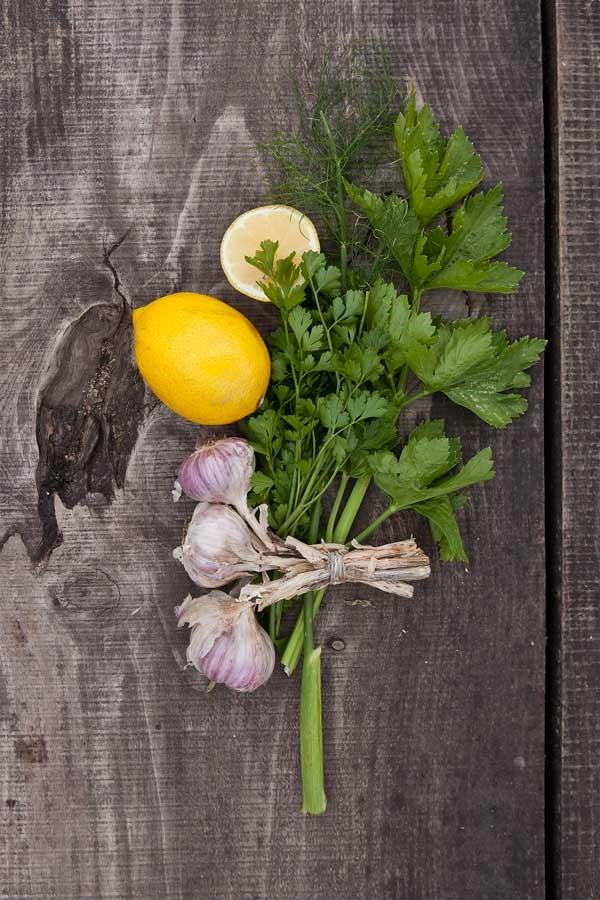 Letnia Kuchnia Cuisine Herbes Fraiches Aromatiques