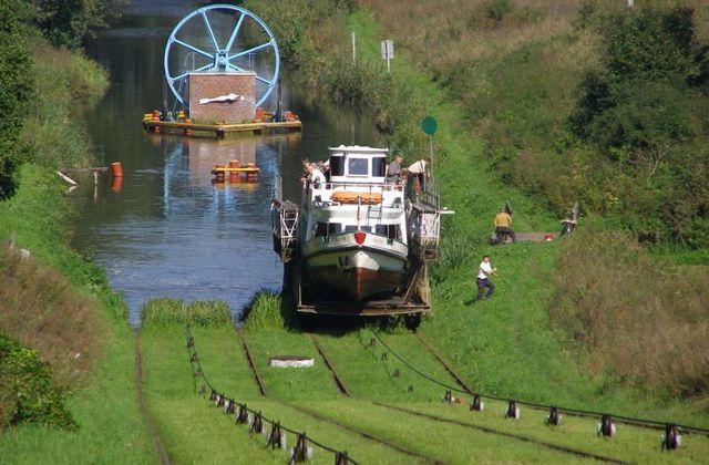 Around Letnia Kuchnia : Elblag Canal Poland