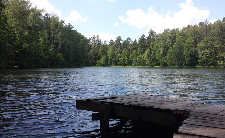 Jezioro Wadąg Warmia Mazury